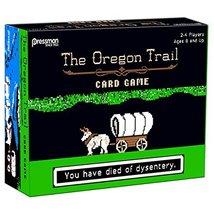 The Oregon Trail Card Game by Pressman Toy - $39.49