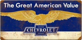 Chevrolet-Great American Value Metal Sign - $27.95