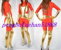 Halloween Cosplay Suit Amazing Red/Gold Phoenix Suit Catsuit Costumes S499 - $49.99