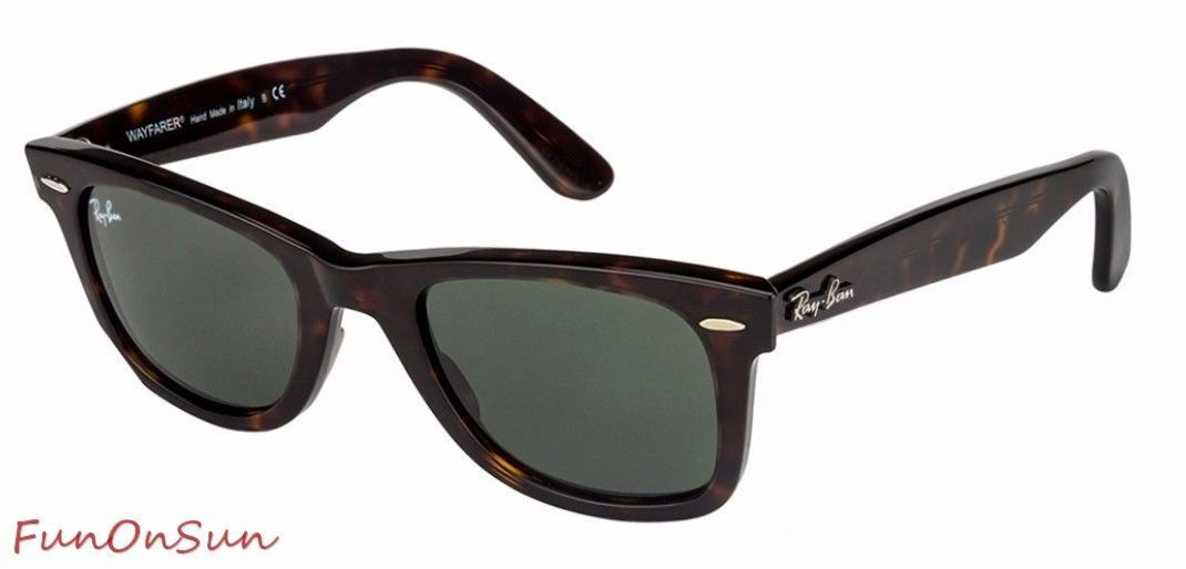 44b6aebd93 S l1600. S l1600. Previous. Ray Ban Icons Wayfarer Sunglasses RB2140 902  Havana With Green Lens 50mm
