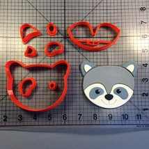 Raccoon Face 100 Cookie Cutter Set - $6.00+