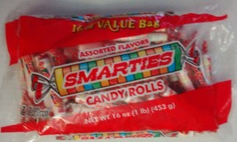 Smarties Assorted Flavor Sour Candy Rolls 16 Oz Value Bags - $16.82