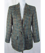Vintage 80's NORM THOMPSON 6 Tweed One Button F... - $21.49