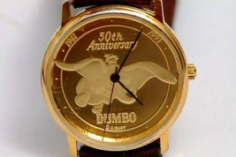 1991 PEDRE highest grade 18 KT Dumbo 50 anniversary commemorative  Wrist... - $444.51