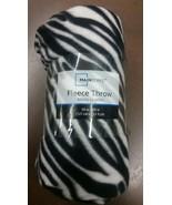 Mainstays Camo, Zebra and Leopard Fleece Blanket - $24.75