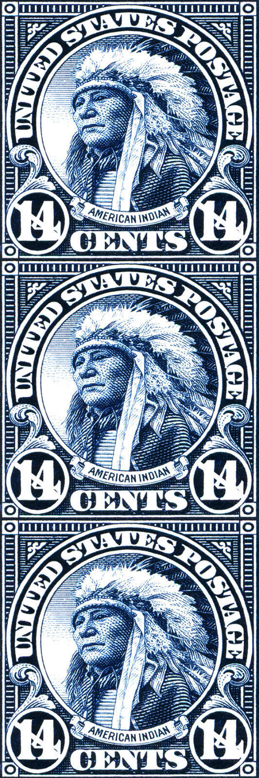 American Indian Bookmark