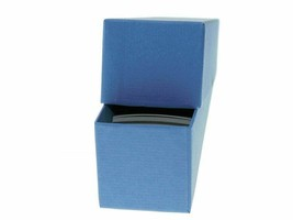 "Guardhouse Blue/Nickel Coin Box with 100 flips, 2"" x 2"" x 8.5"" image 2"