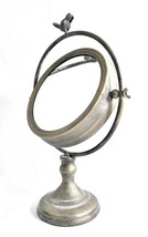 Tilting Metal Mirror on Stand w/Bird Finial - $44.55