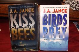 Pair: JA Jance bundle deal -- Birds of Prey + Kiss the Bees, paperback n... - $9.36