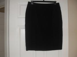 Le Suit New Womens Black Knee-Length Straight Skirt   12 - $11.99