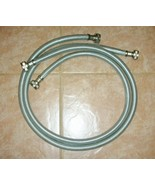 Washing Machine Inlet Hoses GE Stainless Steel ... - $10.00