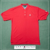 Tommy Hilfiger Golf  Polo - Large RED - $11.00