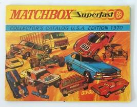 Vintage 1970 Matchbox Lesney Diecast Collector's Toy Dealer Catalog Booklet - $33.66