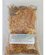 1 oz DRIED CALENDULA FLOWERS Botanical Herbs Petal Tea Herbal Herb Soap ... - $2.95