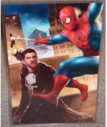 Spider-Man vs The Punisher Glossy Art Print 11 ... - $24.99