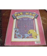 VERY RARE 1980 Pac - Man NOS Bookcovers 3  covers Pacman 14 1/4 x 22 inc... - $9.79