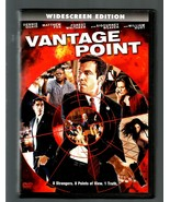 VANTAGE POINT  * DENNIS QUAID ~ FOREST WHITAKER *  WIDESCREEN  DVD - $3.00