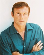 ADAM WEST RARE 1960S POSE IN BLUE SHIRT ARMS CROSSED 16x20 Canvas Giclee - $69.99
