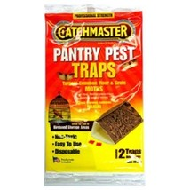 Catchmaster Pantry Moth Traps Indian Meal Moth Traps Flour Moth Traps (2... - $10.39