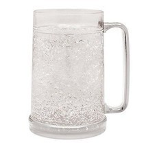 New! Freezer ICE Mug FROSTY DRINK BLUE CUP CRACKLE FREEZE COLD FROZEN BE... - $22.36 CAD