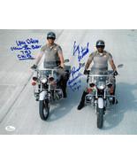 Erik Estrada/Larry Wilcox dual signed CHiPs California Highway Patrol 11... - $123.95