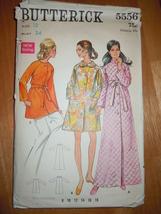 Vintage Butterick Misses  Size 12 Robe Pattern #5556   - $5.99