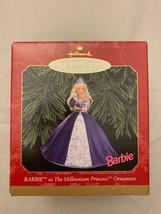 Hallmark Keepsake Ornament Millennium Princess Barbie 1999 Holiday Chris... - $10.75