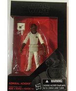 Disney Hasbro Star Wars Black Series Admiral Ackbar 3.75in Figure - $20.80