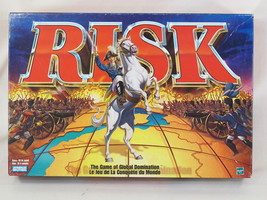 RISK 1998 BOARD GAME 360 MINIATURES + MISSION R... - $24.75