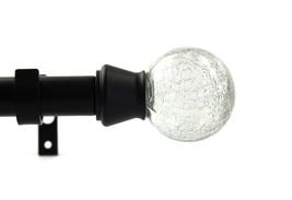 Urbanest 1-inch Diameter Crackle Adjustable Single Curtain Rod - $29.69+