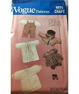 "Vogue 8875 Sewing Pattern Doll Clothes 20"" Designed by Linda Carr NEW - $12.86"