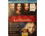 LES  MISERABLES BLU-RAY + DVD + DIGITAL COPY + ULTRAVIOLET