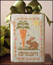 Dream Big easter spring cross stitch chart Country Cottage Needleworks - $5.40
