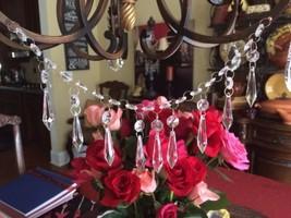 2x 3FT Crystal Acrylic Bead Chandelier Part U-Drop Set For Wedding Party Garland - $11.60