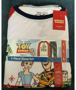 Jammies For Your Families Men's Toy Story 4 Pajama Set Size Large Christ... - $24.74