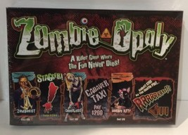 Zombie-Opoly - Halloween Monopoly Board Game - Late For The Sky - New Sealed - $32.85