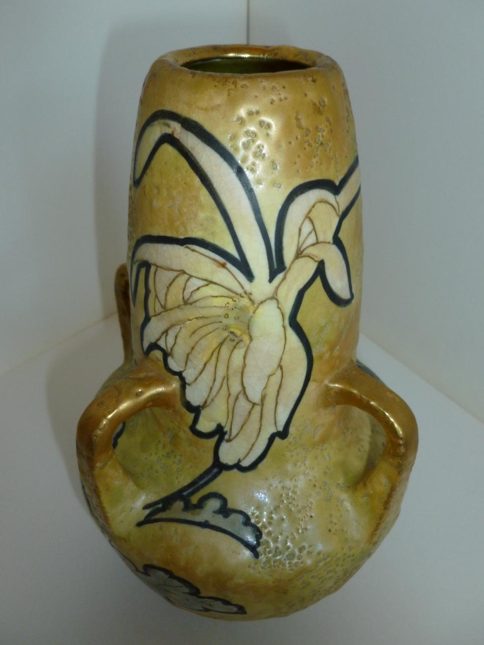 Austrian Amphora Vase c 1900