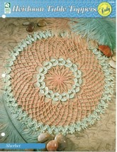 Crochet Pattern - Sherbet - Heirloom Table Toppers - House Of White Birches - $1.97