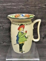 Antique Royal Doulton Cavalier Motto Pitcher Better So Than Worse Musketeers  - $49.50