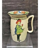 Antique Royal Doulton Cavalier Motto Pitcher Better So Than Worse Musket... - $49.50