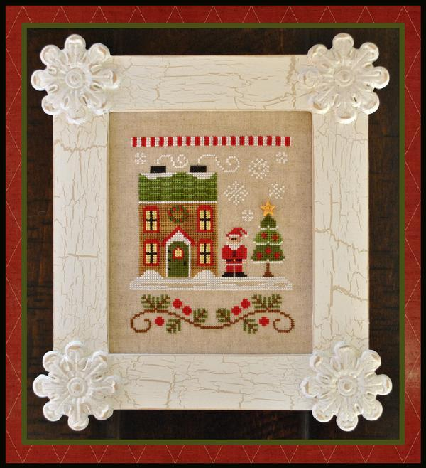 Mrs. Claus's Cookie Shop Release #4 cross stitch Country Cottage Needleworks
