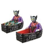 Inflatable Halloween Coffin Cooler Dracula Party Decorations Drinks Stor... - $1.137,22 MXN