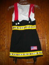 Leg Avenue Spirit Small Backdraft Babe Fire Woman Halloween Costume - $17.82