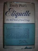 1953 Emily Post's ETIQUETTE social usage DJ FEMINISM - $35.00