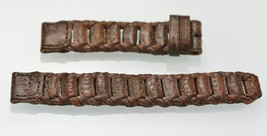Unisex Brown Leather Replacement Watch Band 18mm - $7.89
