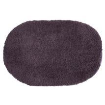 (purple)40x60cm Bathroom Carpet Mat Soft Doormat Floor Rugs Oval Non-sli... - $20.00