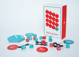 RISK & Reward Card Game 4 Piece by Haywire Group  - $13.19
