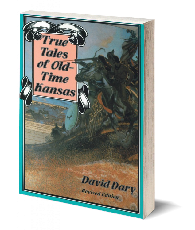 3d book cover true tales of old time kansas