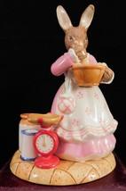 "Royal Doulton Bunnykins Figurine - ""Cup Cakes"" DB500 - $90.24"