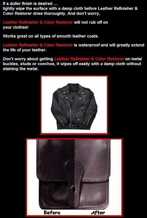 Leather Refinish Color Restorer Dye image 4